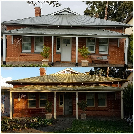 Painted Roof Brad Shipway Geebung Real Estate